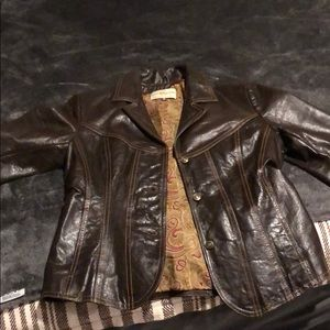 Wilson's Leather Women's Brown Leather Jacket (M)